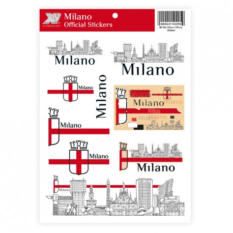 Milano Official Stickers