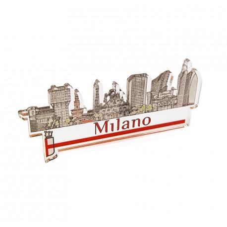 Magnete Plexiglass Skyline moderno